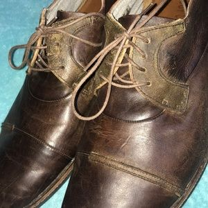 Timberland Shoes - Timberland Boot Co SZ 11 Distressed Leather Shoe